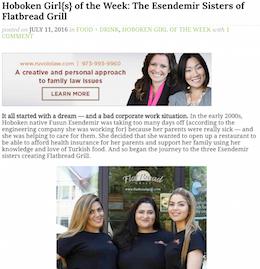 Hoboken Girl Blog Esendemir Sisters