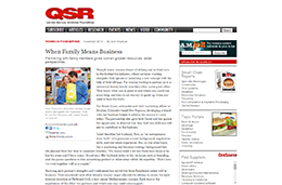 When Family Means BusinessQSR Magazine