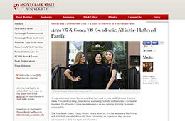 Arzu '07 & Gonca '08 Esendemir: All in the Flatbread FamilyMontclair State University News