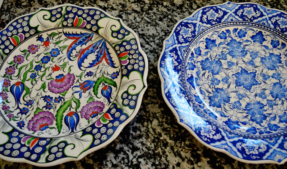 Porcelain Turkish Plates