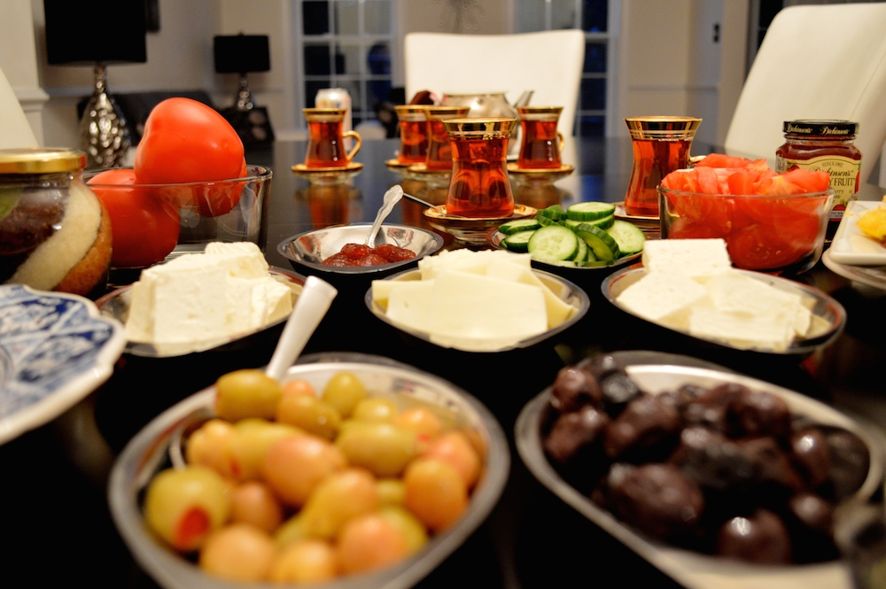 Turkish Breakfast Setting
