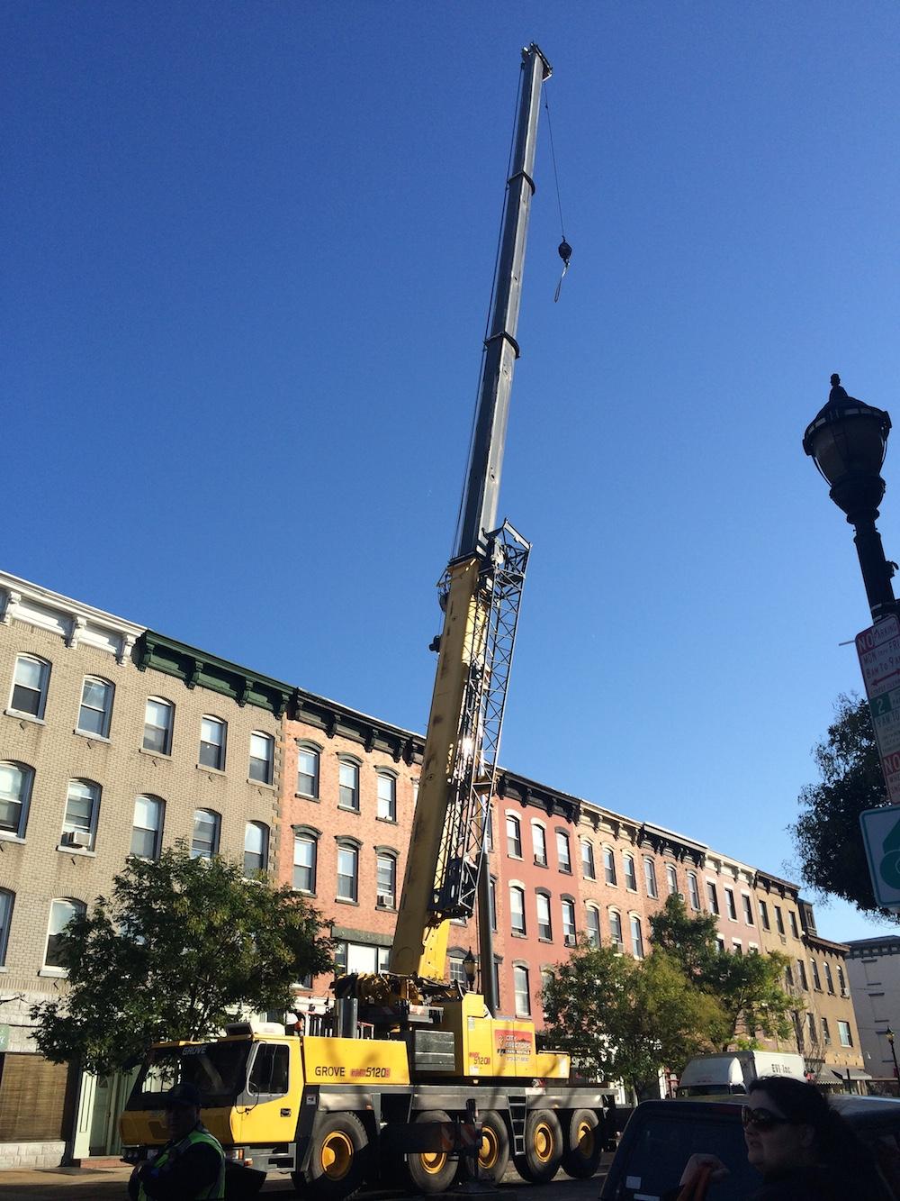 Installing Flatbread Grill Hoboken NJ Hood System